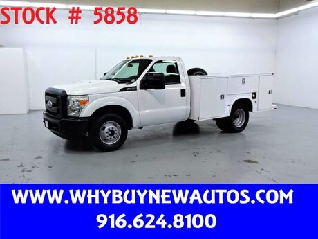 2011 Ford F350 Utility ~ Only 77K Miles! Rocklin CA