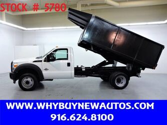 Ford F450 ~ Diesel ~ 12ft Dump Bed ~ Only 78K Miles! 2011