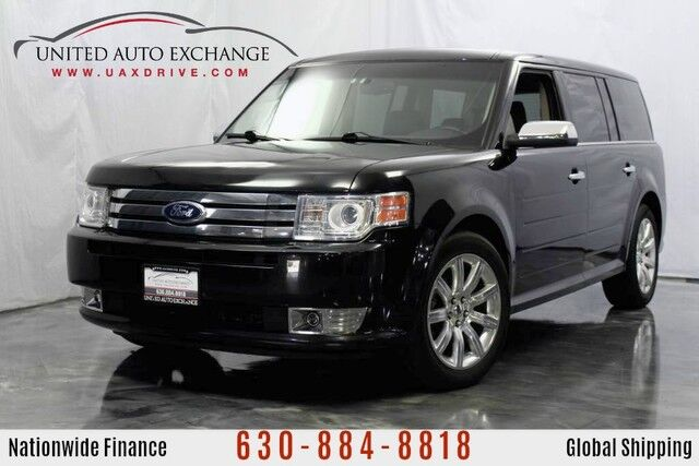 2011 Ford Flex 3.5L V6 Engine FWD Limited w/ **3rd Row Seats** Navigation, Bluetooth Connectivity, Heated Leather Seats, Panoramic Sunroof, SecuriCode Keypad Addison IL