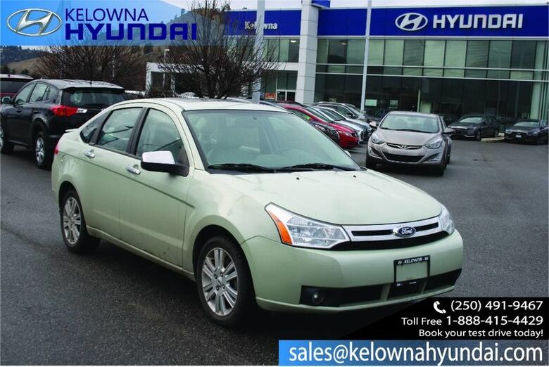 2011 Ford Focus SEL ( Well maintained ) Kelowna BC