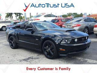 Ford Mustang GT PREMIUM 1 OWNER CLEAN CARFAX NAV LEATHER POWER SEATS 2011