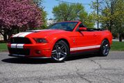 2011 Ford Mustang GT500 Convertible #716 of 950 Lodi NJ