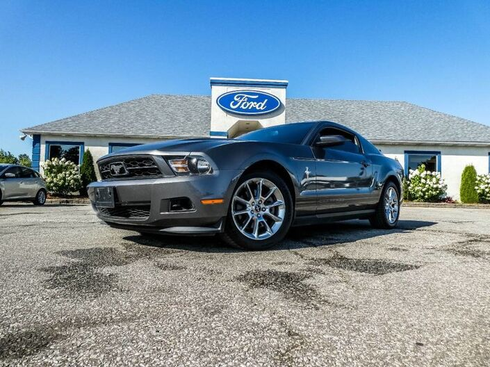 2011 Ford Mustang V6- SALE PENDING - BORLA EXHAUST- HEATED SEATS- LEATHER INTERIOR Essex ON