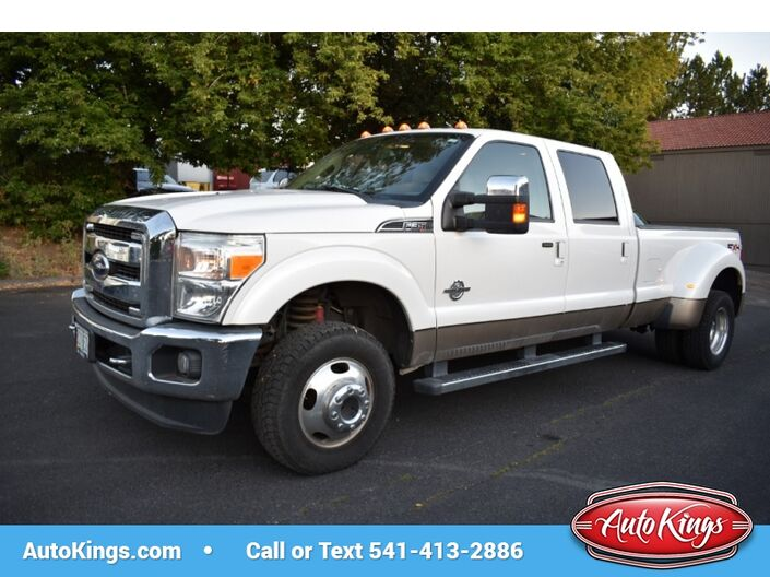 2011 Ford Super Duty F-350 DRW 4WD Crew Cab 172  Lariat Bend OR