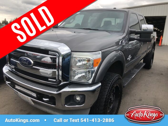 2011 Ford Super Duty F-350 SRW 4WD Crew Cab 172  Lariat Bend OR