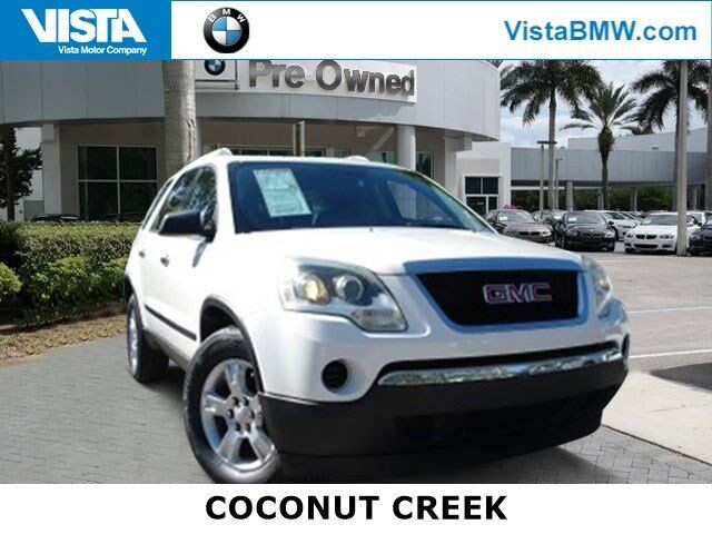 2011 GMC Acadia SL Coconut Creek FL