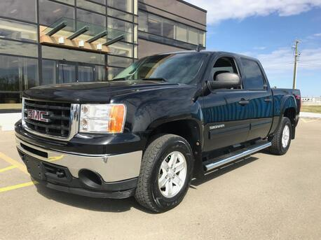 2011_GMC_Sierra 1500 Z71_Z71 Off-Road Package ~4.8 Liter Vortec  V8 ~ Touch Screen ~ $0 Down ~ Low as $198  B/W 888-299-8130_ Sherwood Park AB