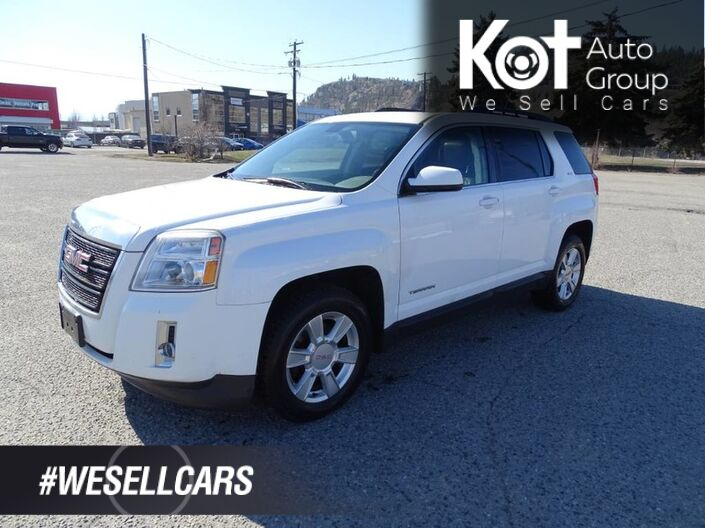 2011 GMC Terrain SLT-1, Eco Mode, Heated Leather Seats, Back-up Camera, Sunroof Kelowna BC