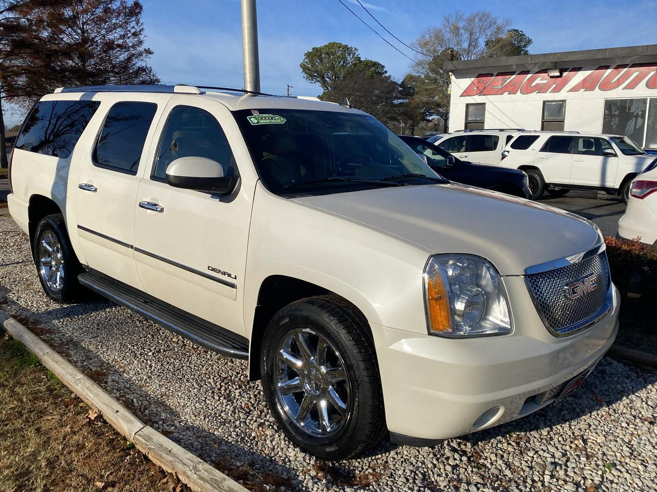 2011 GMC YUKON DENALI XL, WARRANTY, LEATHER, NAV, HEATED/COOLED SEATS, DVD PLAYER, SUNROOF, FULLY LOADED, 1 OWNER! Norfolk VA