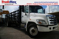 2011_HINO_338_24' Flatbed Stake Side Box_ Homestead FL