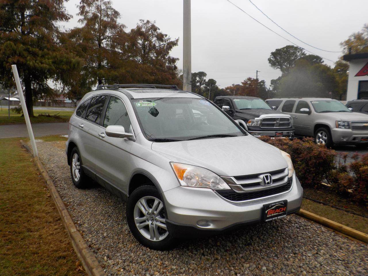 2011 HONDA CR-V EX-L, WARRANTY, LEATHER, SUNROOF, HEATED FRONT SEATS, BLUETOOTH, CRUISE CONTROL, A/C! Norfolk VA