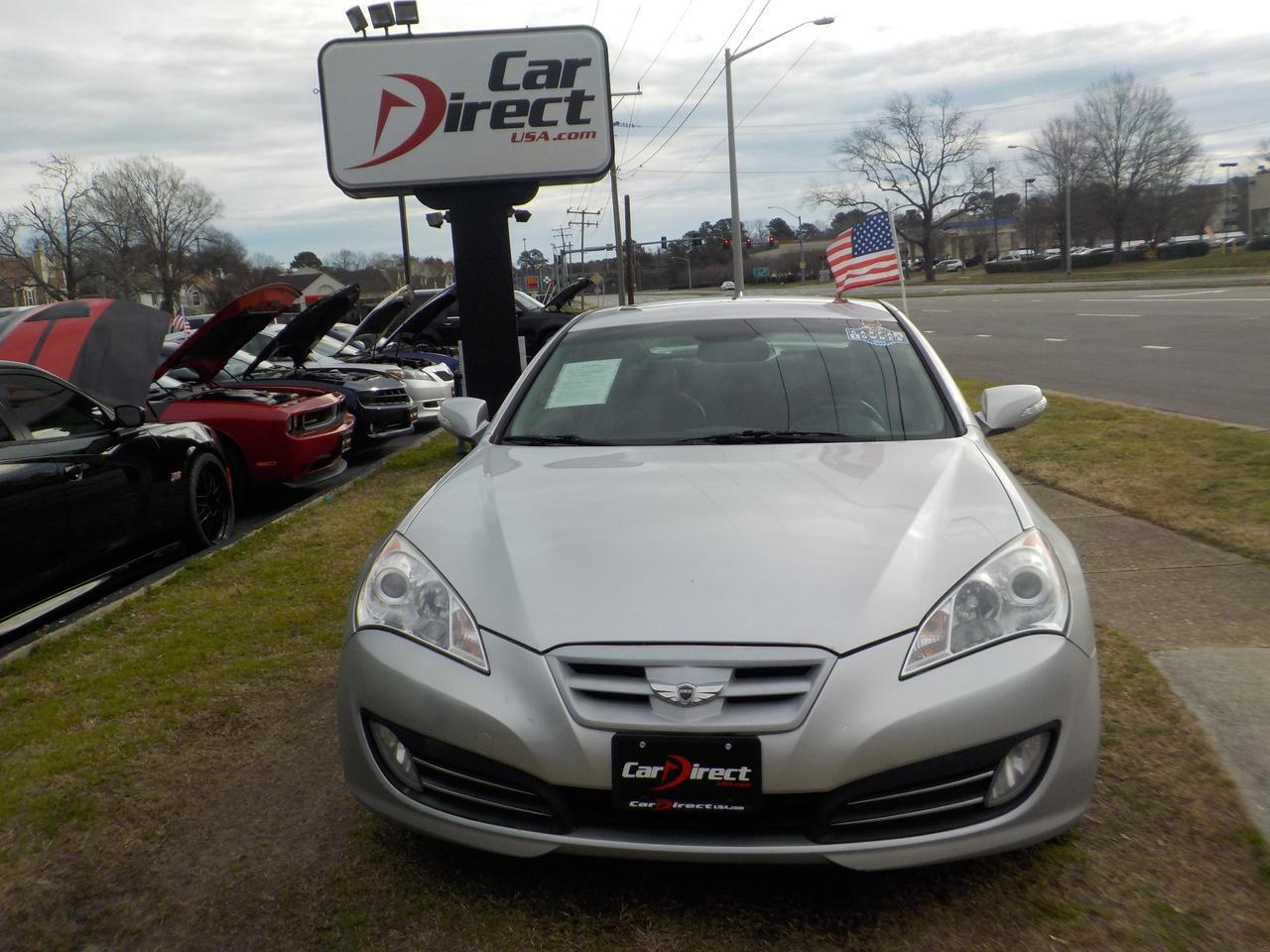 2011 HYUNDAI GENESIS GRAND TOURING COUPE, WARRANTY, SUNROOF, HEATED SEATS, BLUETOOTH, INFINITY SOUND SYSTEM, AUX PORT! Virginia Beach VA