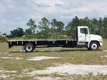 2011 Hino 338 24' BABCO Flatbed w/Side Rails (Diesel)