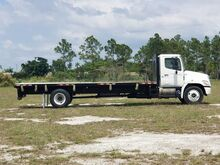 2011_Hino_338_24' BABCO Flatbed w/Side Rails (Diesel)_ Homestead FL