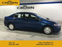 2011_Honda_Civic Sdn_DX-G **Honda Reliability** Low KMS** Air Conditioning** Power Windows**_ Winnipeg MB