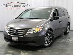 2011_Honda_Odyssey_EX-L / 3.5L V6 Engine / FWD / 3rd Row Seats / Power Doors / Sunroof / Rear Entertainment / Bluetooth / Heated leather Seats_ Addison IL
