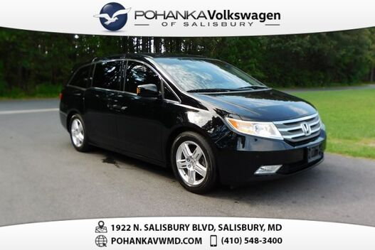 2011_Honda_Odyssey_Touring ** LEATHER NAVI SUNROOF **_ Salisbury MD