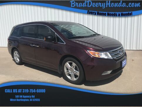 2011_Honda_Odyssey_Touring_ West Burlington IA
