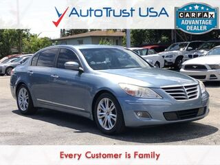 Hyundai Genesis 4.6 NAV SUNROOF BACKUP CAM TECH PKG LOW MILES 2011
