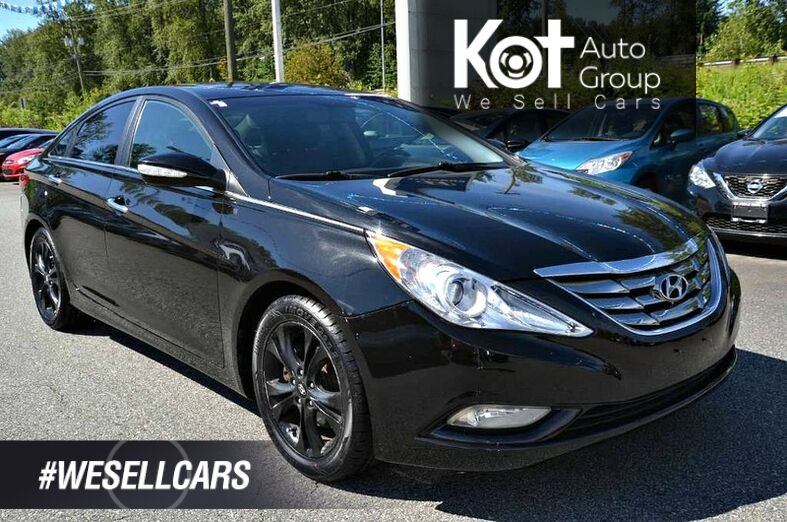 2011 Hyundai SONATA LIMITED! LEATHER! SUNROOF! GREAT PRICE! DRIVE WITH COMFORT TODAY Penticton BC