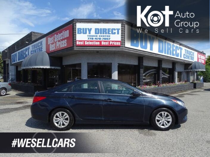 2011 Hyundai Sonata GL Heated Seats, Extra Set of Tires Kelowna BC