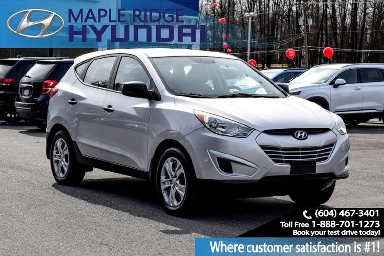 2011 Hyundai Tucson FWD 4dr I4 Auto L Air Conditioning, Keyless Entry Maple Ridge BC