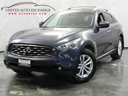 2011_INFINITI_FX35_3.5L V6 Engine / AWD / Sunroof / Navigation / Around View Monitor System_ Addison IL