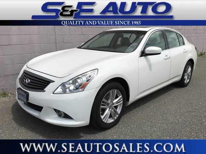 2011 INFINITI G25 Sedan x Weymouth MA