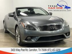 2011_INFINITI_G37 Convertible_S SPORT PKG PREMIUM PKG NAVIGATION PKG LEATHER REAR CAMERA KEYLE_ Carrollton TX