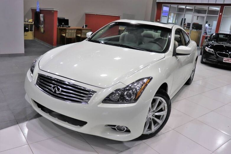 2011 INFINITI G37 Coupe x Premium Package Sunroof Springfield NJ