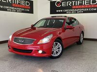 INFINITI G37 Sedan G37 JOURNEY SUNROOF REAR CAMERA REAR PARKING AID HEATED LEATHER SEATS DUAL 2011