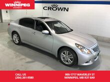 2011_INFINITI_G37 Sedan_Luxury AWD/Leather/Sunroof/Heated seats/Rear view camera_ Winnipeg MB