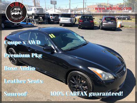 2011_INFINITI_G37 x_Coupe w/ Premium Pkg_ Arlington VA