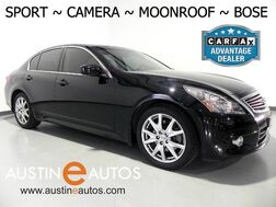 2011_INFINITI_G37x Sedan AWD_*SPORT PACKAGE, BACKUP-CAMERA, MOONROOF, LEATHER, HEATED SEATS, BOSE AUDIO, BLUETOOTH_ Round Rock TX