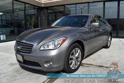 2011_INFINITI_M37_/ AWD / Heated & Cooled Leather Seats / Heated Steering Wheel / Sunroof / Navigation / Bluetooth / Back Up Camera / Cruise Control / 24 MPG / Only 78k Miles_ Anchorage AK