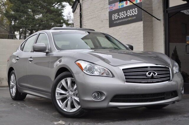 2011 INFINITI M56 5.6 Liter V8/Premium Pkg w/ Navigation/Bose Audio w/ Streaming Bluetooth/Intelligent Key w/ Push Button Ignition/Climate Controlled Front Seats/Heated Steering Wheel/Moonroof Nashville TN