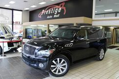 2011_INFINITI_QX56 - Rear Entertaintment, Navi, Backup Camera_7-passenger_ Cuyahoga Falls OH