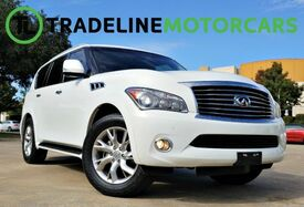 2011_INFINITI_QX56_7-passenger SUNROOF, HEATED SEATS, BLIND SPOT MONITOR, AND MUCH_ CARROLLTON TX