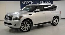 2011_INFINITI_QX56_8-passenger Navigation TV/DVD Back up Camera Sunroof_ Dallas TX