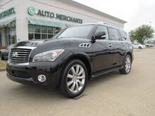 2011_Infiniti_QX56_Entertainemnt System, Sunroof, Navigation, Back-up Camera, Power Lift-gate, Heated Seats_ Plano TX