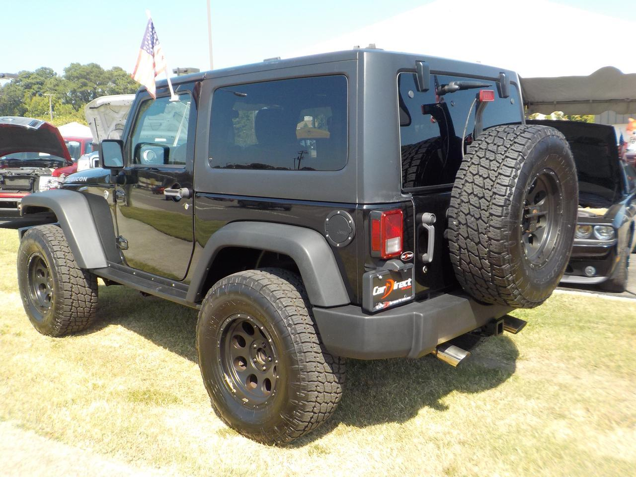 2011 JEEP WRANGLER RUBICON 4X4, KEYLESS ENTRY, TOW HITCH, USB, CRUISE CONTROL, HEATED SEATS! Virginia Beach VA