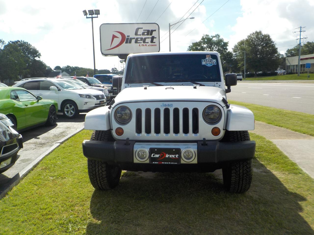 2011 JEEP WRANGLER UNLIMITED 70TH ANNIVERSARY EDITION 4X4, HARD & SOFT TOP, RUNNING BOARDS, REMOTE START, NAVIGATION! Virginia Beach VA