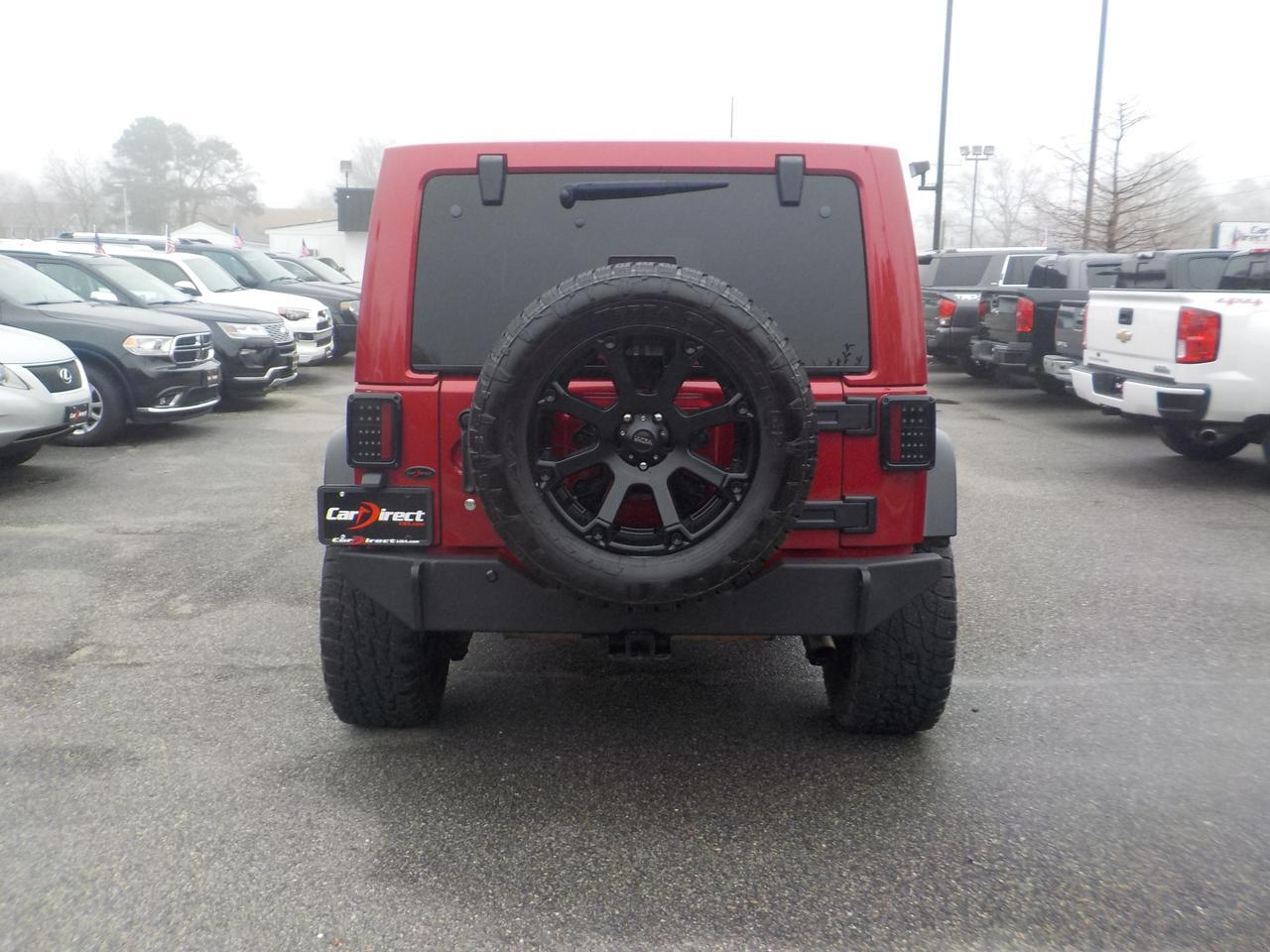 2011 JEEP WRANGLER UNLIMITED SAHARA 4X4, HARD TOP,  LEATHER SEATS, NAVIGATION, TOW PACKAGE,  ONLY 43K MILES! Virginia Beach VA