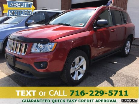 2011 Jeep Compass Latitude 4WD 1-Owner w/Low Miles Buffalo NY