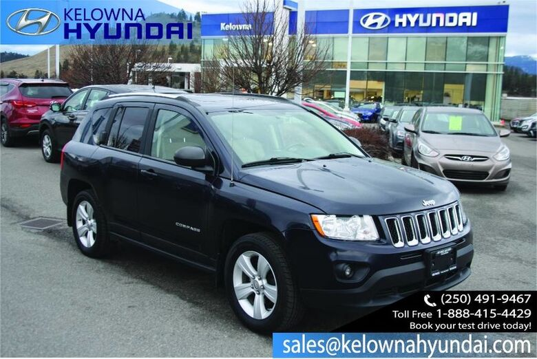2011 Jeep Compass North Edition No accident !! Wheel Controls,Remote Keyless Entry Kelowna BC