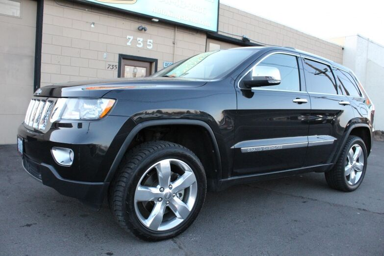 2011 Jeep Grand Cherokee 4WD Overland Summit Bend OR