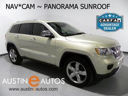 2011_Jeep_Grand Cherokee Overland_*NAVIGATION, BACKUP-CAMERA, BLIND SPOT ALERT, PANORAMA SUNROOF, ADAPTIVE CRUISE, CLIMATE SEATS, BLUETOOTH_ Round Rock TX