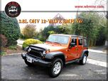 2011 Jeep Wrangler 4WD Unlimited Sport