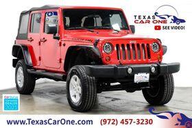 2011_Jeep_Wrangler_UNLIMITED RUBICON 4WD SOFT TOP CONVERTIBLE NAVIGATION CRUISE CONTROL ALLOY_ Carrollton TX
