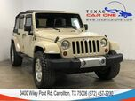 2011 Jeep Wrangler UNLIMITED SAHARA 4WD SOFT TOP CONVERTIBLE LEATHER HEATED SEATS C